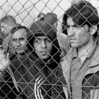 Arrested refugees