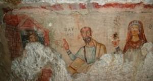 Fresco of Thecla