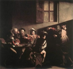 The Calling of Saint Matthew, by Caravaggio