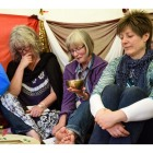 Women sharing a Eucharist
