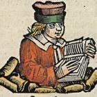 Zephaniah. Woodcut from the Nuremberg Chronicle, 1493