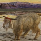 Detail from William Holman Hunt: The Scapegoat, 1854.