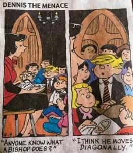 Cartoon of children