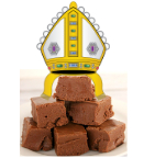 Mitre on fudge