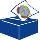 Ballot Box with the world