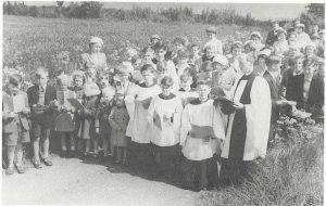 Rogation Sunday procession