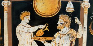 Ancient Greek pouring of libation