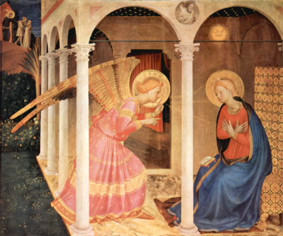 The Annunciation, Fra Angelico, 15th Century