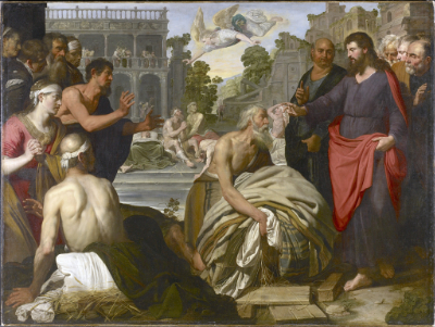 Wolffort, Christ at the Pool of Bethesda