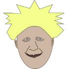 Drawing of Boris Johnson