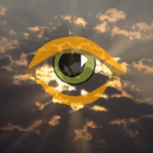 Clouds with an eye
